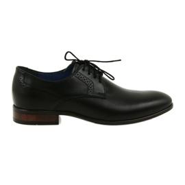 Heren formele lounge schoenen Nikopol 1695 zwart