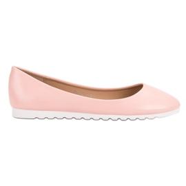 Yes Mile roze Klassieke Ballerina