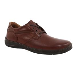 Badura schoenen heren comfort 3509 bruin