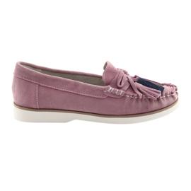 Roze Comfortabele Filippo 641 dames loafers