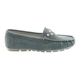 Filippo grijze dames mocassins schoenen grijs
