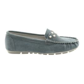 Grijs Filippo grijze dames mocassins schoenen