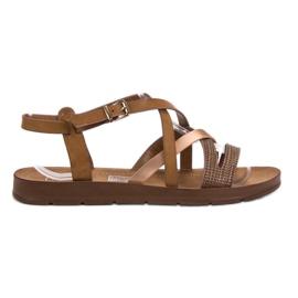 Filippo bruin Casual sandalen