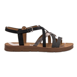 Filippo zwart Casual sandalen