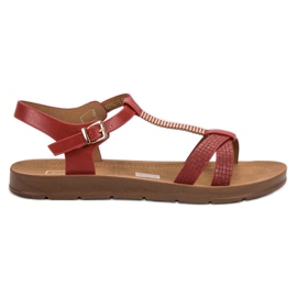 Filippo Klassieke rode sandalen rood