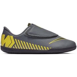 Indoor schoenen Nike Mercurial Vapor 12 Club PS (V) Ic Jr AH7356-070 grijs / zilver grijs