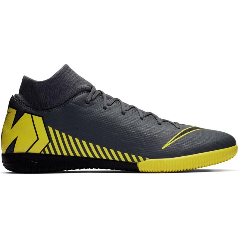 Binnenschoenen Nike Mercurial Superfly 6 Academy Ic M AH7369-070 grijs grijs / zilver