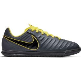 Binnenschoenen Nike Tiempo Legend 7 Club Ic Jr AH7260-070 grijs grafiet