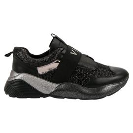 Slip-on VICES-sportschoenen zwart