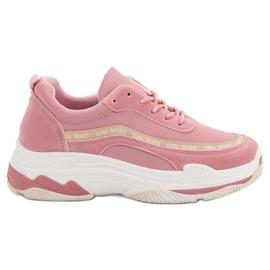 Roze VICES-sportschoenen