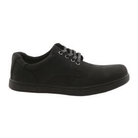 American Club CY23 zwarte sportschoenen