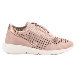 Aclys roze Lichte sportschoenen