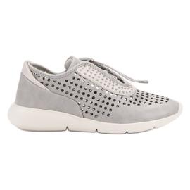 Aclys grijs Lichte sportschoenen