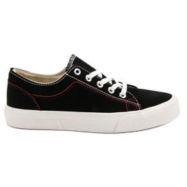 Kylie Zwarte sneakers