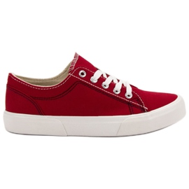 Kylie Rode sneakers rood