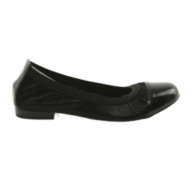Ballerinki damesgum Gamis 1402 zwart