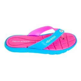 Slippers Aqua-Speed Bali roze-blauw 03 479