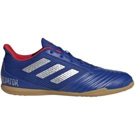 Binnenschoenen adidas Predator 19.4 In Sala M BB9083 blauw blauw