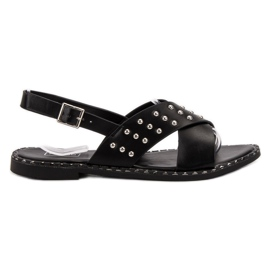Filippo Modieuze rock sandalen zwart