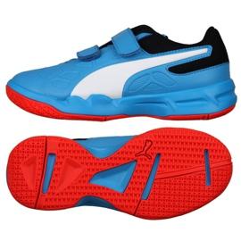 Binnenschoenen Puma Tenaz V Jr. Bleu Azur 104891 06 blauw blauw