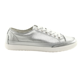 Damesschoen Filippo 703 zilver grijs