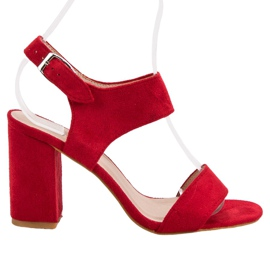 Rood Rode VINCEZA sandalen