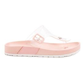 Seastar roze Transparante flip flops