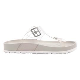 Seastar grijs Transparante flip flops