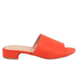 Oranje pantoffels voor vrouwen XW9093 Oranje