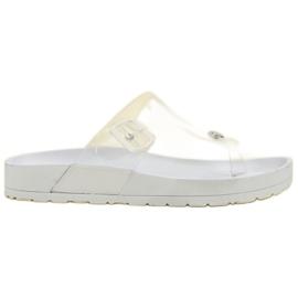 Seastar Transparante flip flops wit