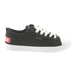 Big Star Sneakers zwart gebonden Grote ster 274877