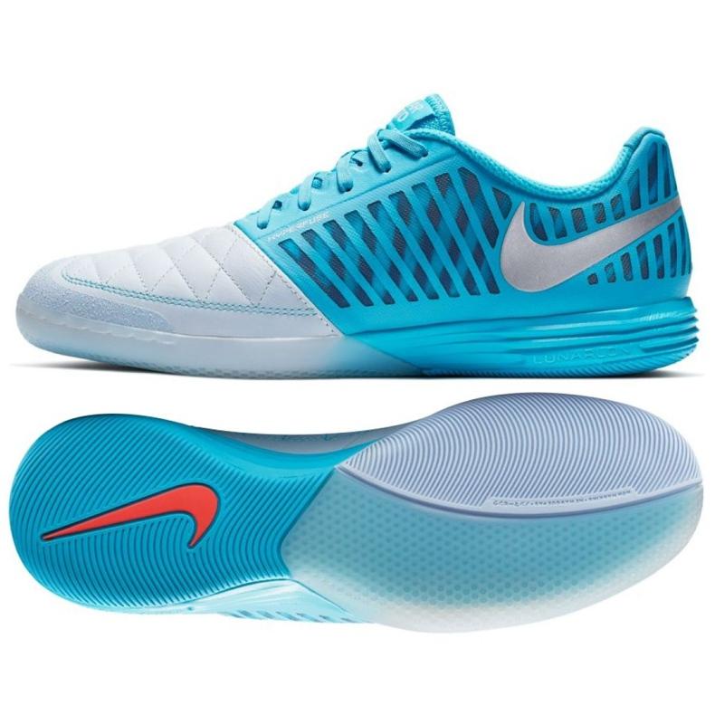 Binnenschoenen Nike Lunargato Ii Ic M 580456-404 blauw wit, blauw
