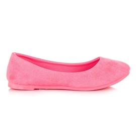 Seastar Comfortabele ballerina roze