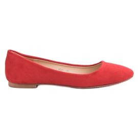 Primavera Klassieke rode ballerina rood