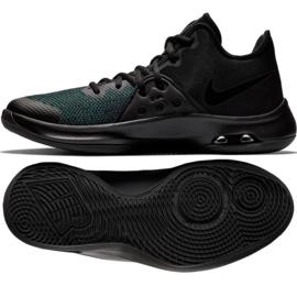 Basketbalschoenen Nike Air Versitile Iii M AO4430-002 zwart zwart