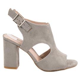 Vinceza grijs Sandceza-sandalen van het type Sandceza