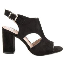 Vinceza Sandceza-sandalen van het type Sandceza zwart