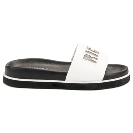 Vinceza Witte slippers