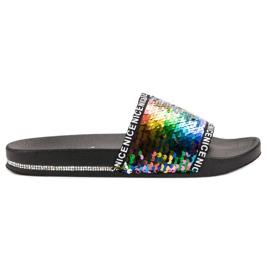 Seastar Pailletten flip flops veelkleurig