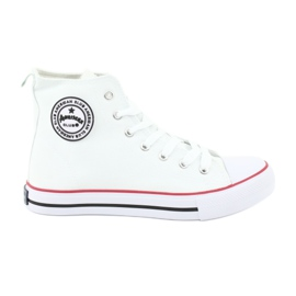 Wit Sneakers White Tied American Club
