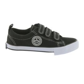 Fluwelen sneakers American Club zwart