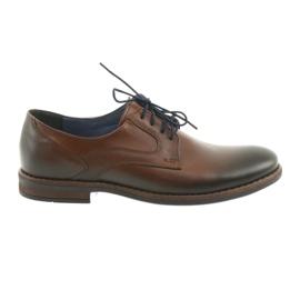 Heren heren bruine schoenen Nikopol 1712