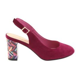 Sandalen op de post Sergio Leone 788 roze