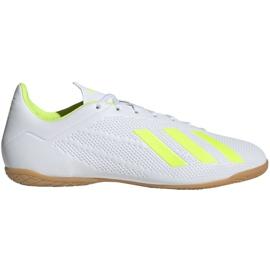 Binnenschoenen adidas X 18.4 In M BB9407 wit wit