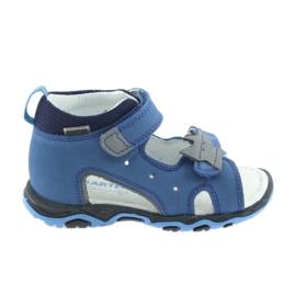 Sandalen jongensrozetten Bartek 51489 blauw