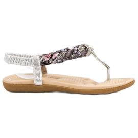 Cm Paris grijs Modieuze Japanse sandalen