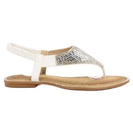 Encor Witte sandalen Japans