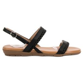 Cm Paris zwart Casual sandalen