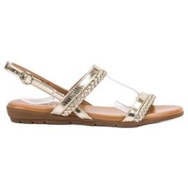 Cm Paris geel Casual sandalen