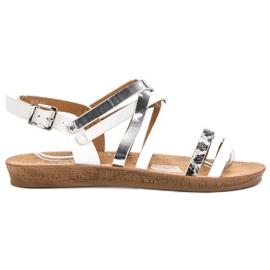 Seastar Modieuze witte sandalen